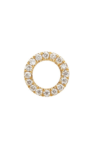 Medium loquet london gold gold diamond hug charm