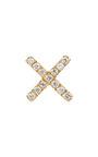 Gold Diamond Kiss Charm by LOQUET LONDON for Preorder on Moda Operandi