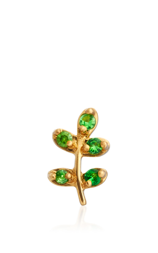 Medium loquet london gold olive branch charm