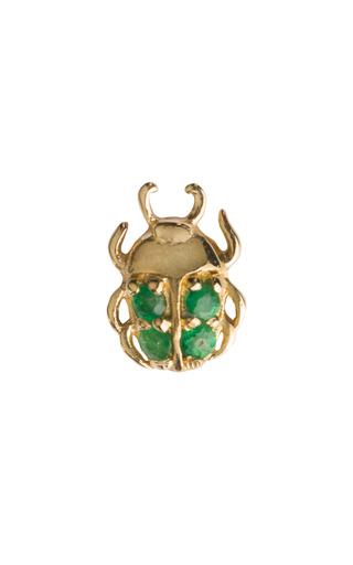 Medium loquet london gold beetle charm