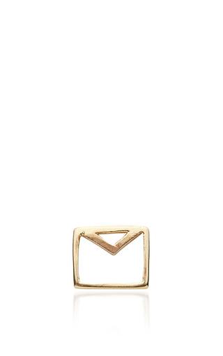 Envelope Charm by LOQUET LONDON for Preorder on Moda Operandi