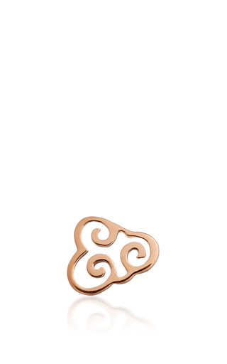 Medium loquet london rose gold cloud charm