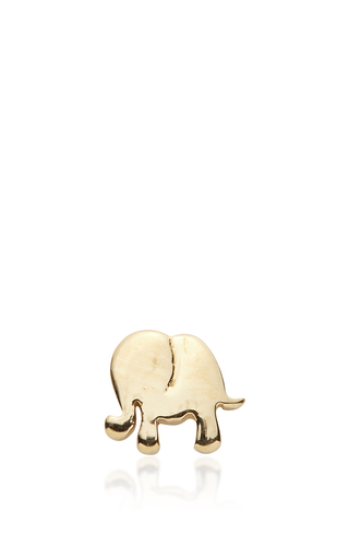 Medium loquet london silver elephant charm