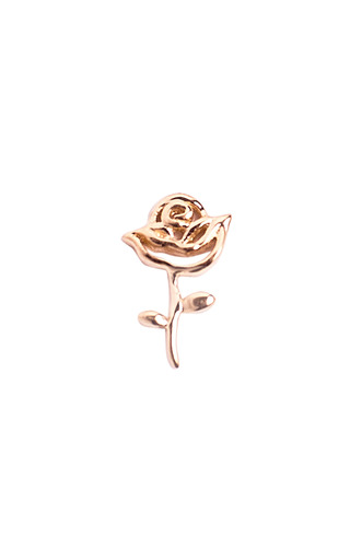 Medium loquet london rose gold rose charm