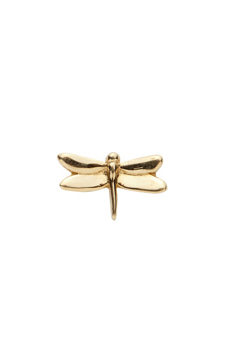 Medium loquet london gold dragonfly charm