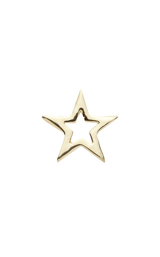 Medium loquet london gold star charm