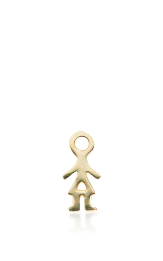 Medium loquet london gold girl charm
