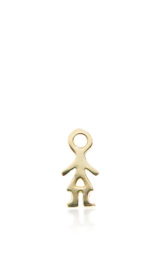 Medium loquet london gold girl charm
