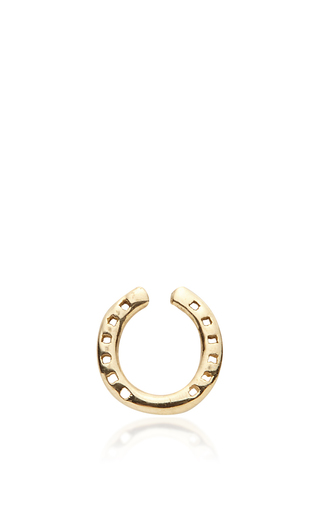Medium loquet london gold horseshoe charm