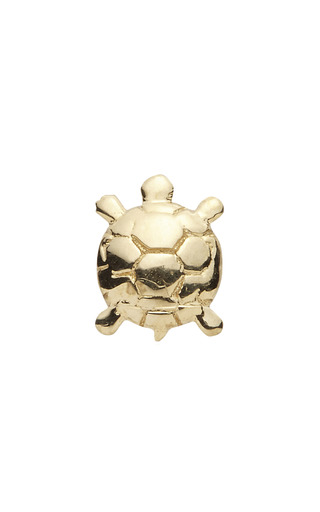 Medium loquet london gold tortoise charm