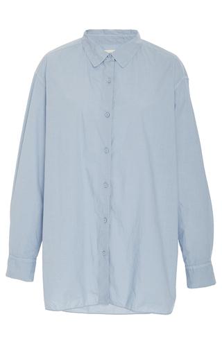 Medium nili lotan light wash denim yorke shirt
