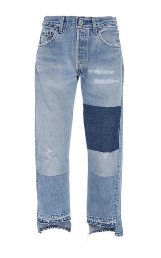 Medium nili lotan light wash franki patch jeans