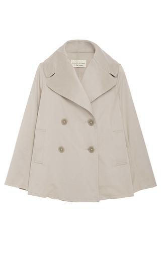 Medium nili lotan tan sienna cropped coat