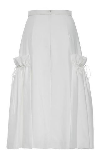 A Line Side Flounce Skirt by ADEAM for Preorder on Moda Operandi