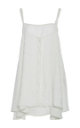 Button Up Sumie Tank by ADEAM for Preorder on Moda Operandi