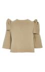 Tied Shoulder Top by ADEAM for Preorder on Moda Operandi