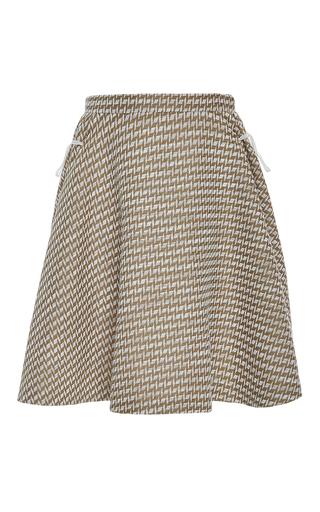 A Line Side Drawstring Skirt by ADEAM for Preorder on Moda Operandi