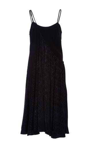 Medium adeam black flounce overlay sumie dress