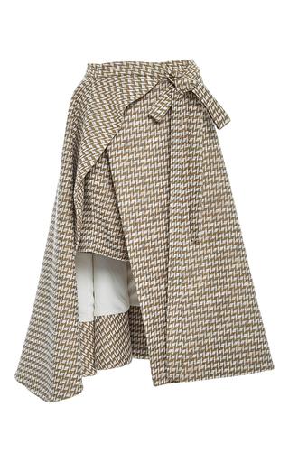 Medium adeam multi overskirt wrap short
