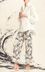 Printed Drawstring Pant by ADEAM for Preorder on Moda Operandi