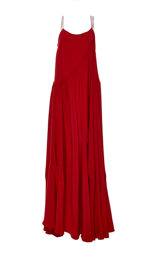 Flounce Overlay Gown by ADEAM for Preorder on Moda Operandi