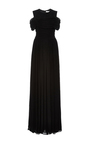 Drawstring Plisse Gown by ADEAM for Preorder on Moda Operandi