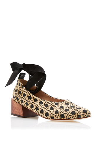 Pina Ballerina Pump by MARI GIUDICELLI for Preorder on Moda Operandi