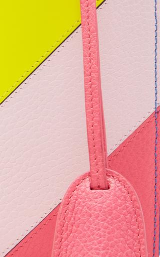 Rainbow Pebble Grain Grace Small Box Bag by MARK CROSS for Preorder on Moda Operandi