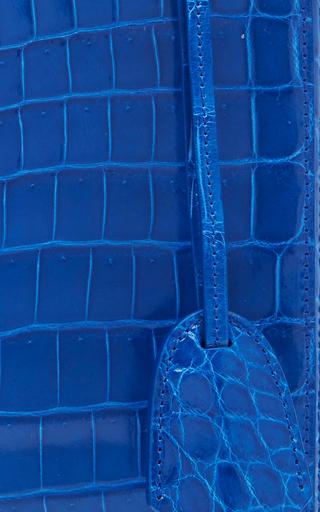 Crocodile Grace Large Box Bag by MARK CROSS for Preorder on Moda Operandi