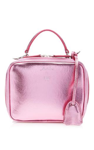 Metallic Nappa Baby Laura Bag by MARK CROSS for Preorder on Moda Operandi