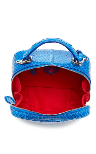 Python Solid Baby Laura Bag by MARK CROSS for Preorder on Moda Operandi