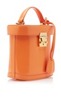 Soft Orange Brush Off Benchley Bag by MARK CROSS for Preorder on Moda Operandi