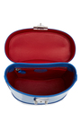 Cornflower Blue Brush Off Benchley Bag by MARK CROSS for Preorder on Moda Operandi