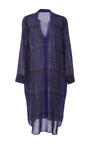 Naima Plaid Shirt Dress by APIECE APART for Preorder on Moda Operandi