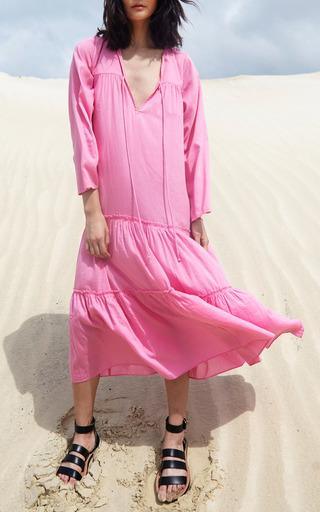 Atlas Tiered Maxi Dress by APIECE APART for Preorder on Moda Operandi