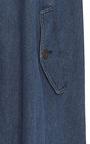Lahay Draped Denim Jacket by APIECE APART for Preorder on Moda Operandi