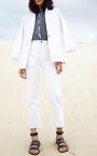 Lalla Shirred Sleeve Top by APIECE APART for Preorder on Moda Operandi