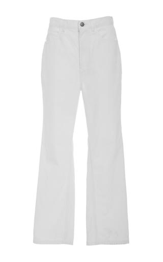 High Waist Bootcut Jeans by APIECE APART for Preorder on Moda Operandi