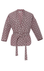 Laila Quilted Wrap Jacket by APIECE APART for Preorder on Moda Operandi