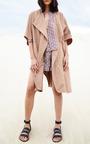 Baja Printed Wrap Shorts by APIECE APART for Preorder on Moda Operandi