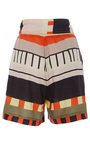Baja Abstract Printed Wrap Shorts by APIECE APART for Preorder on Moda Operandi