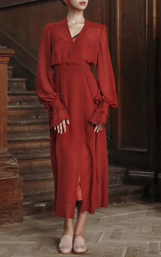 Silk Slip Dress by ULYANA SERGEENKO for Preorder on Moda Operandi