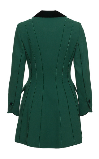 Contrast Piping Dress by ULYANA SERGEENKO for Preorder on Moda Operandi
