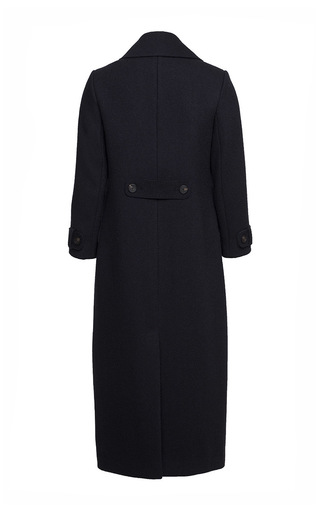 Wide Collared Long Coat by ULYANA SERGEENKO for Preorder on Moda Operandi