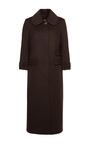 Long Bodied Cashmere Coat by ULYANA SERGEENKO for Preorder on Moda Operandi