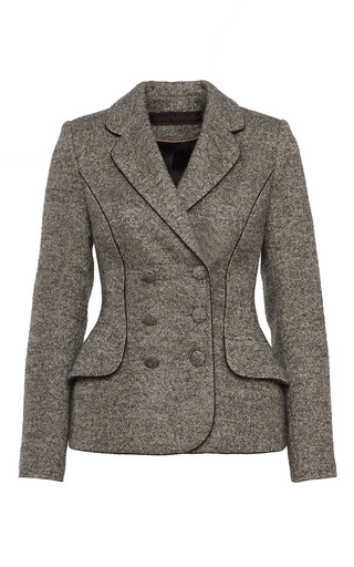 Double Breasted Fitted Jacket by ULYANA SERGEENKO for Preorder on Moda Operandi