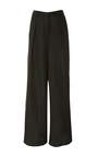 Wide Leg Pleated Pant by TOMAS MAIER for Preorder on Moda Operandi