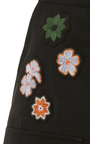 High Waist Patch Mini Skirt by TOMAS MAIER for Preorder on Moda Operandi