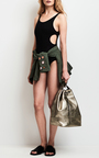 Tropical Patch Military Jacket by TOMAS MAIER for Preorder on Moda Operandi