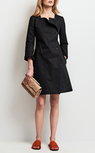 Long Sleeve Button Up Dress by TOMAS MAIER for Preorder on Moda Operandi